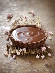 tarte au chocolat classique