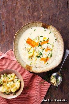Scotland potage au haddock