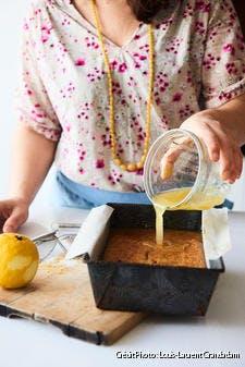 Gâteau yaourt au soja et citron