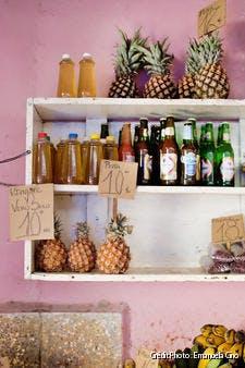 Produits dans un commerce cubain