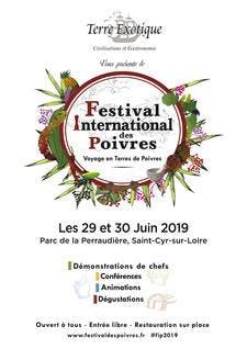 Affiche du Festival International des poivres