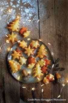 Feuilletés de Noël à la tomate pimentée
