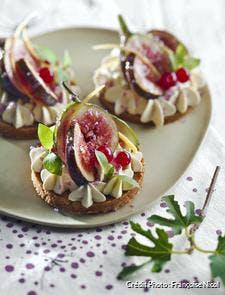 Tartelettes aux figues