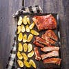 Épigrammes d'agneau sauce BBQ