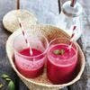 Smoothie express aux fruits rouges
