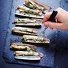 Recette de couteaux : fruits de mer à la plancha