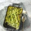 Gratin de ravioles aux courgettes et au basilic