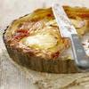 Tarte à la tomate et au rocamadour