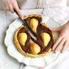 Tarte aux poires et au chocolat