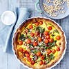 Quiche complète légumes-lardons