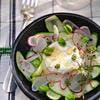 salade radis chèvre