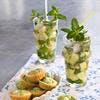 Virgin cucumber mojito
