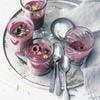 Soupe de betterave aux cerises et noix
