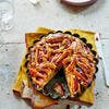 Tarte briochée pommes-cranberry