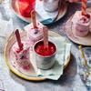 Petits-suisses glacés aux fruits rouges