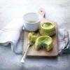 Moelleux aux courgettes et caviar d'aubergine